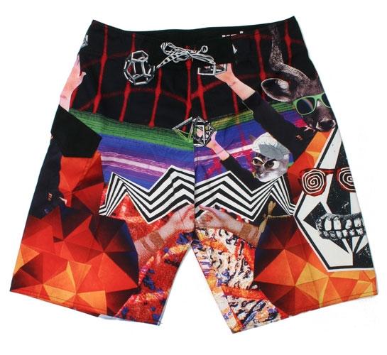 Volcom Men's Shorts - Chaos Wrap Mod (Multi)