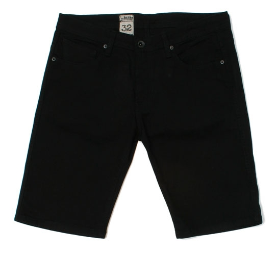 Volcom Men's Shorts - Vorta Short (Black Denim)