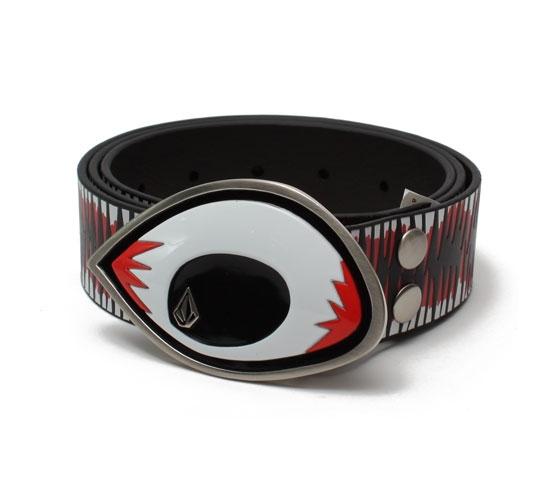 Volcom Men's Belt - Volcom F.A. Ethan Anderson Leather Belt (Black)