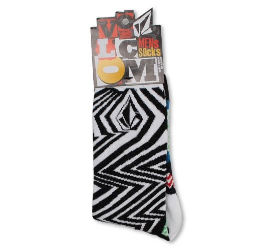 Volcom Men's Socks - Comicazee (Art)