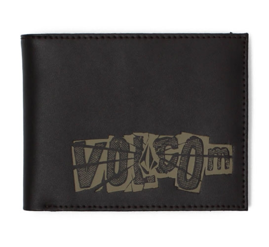 Volcom Wallet - Causey Leather Wallet (Brown)