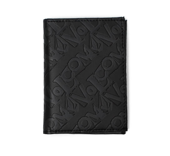 Volcom Wallet - Mixed Bag 3F Wallet (Black)
