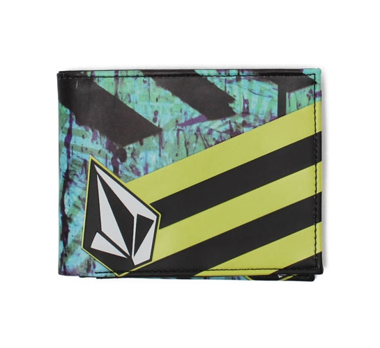 Volcom Wallet - Frizzo 2F Leather Wallet (Photo)