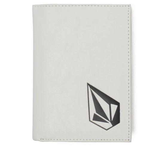Volcom Wallet - Full Stone Wallet (White)