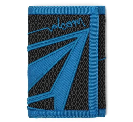 Volcom Wallet - Veebee 3F Cloth Wallet (Black)
