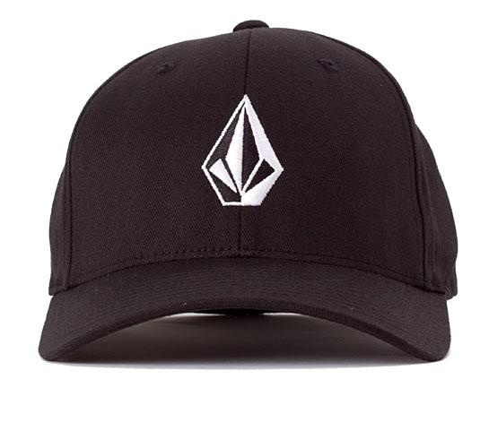 Volcom Full Stone 6277 Flexfit Cap (Black)
