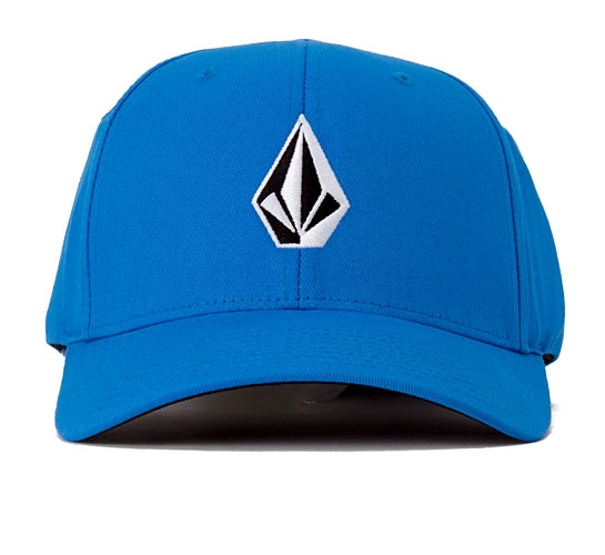 Volcom Full Stone 6277 Flexfit Cap (Blue)