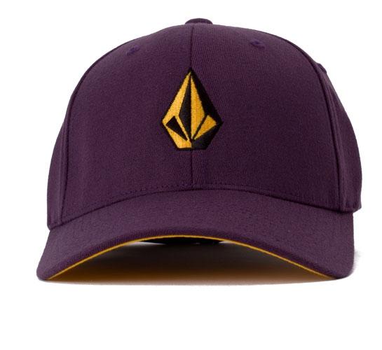 Volcom Full Stone 6277 Flexfit Cap (Purple)