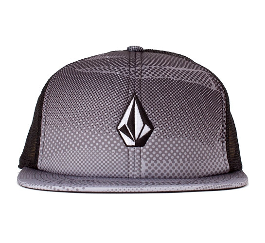 Volcom Printed Stone Cheese Hat (Black)