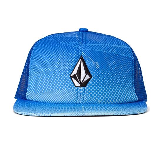 Volcom Printed Stone Cheese Hat (Blue)