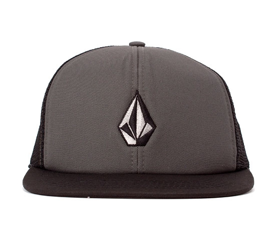 Volcom Full Stone Cheese Hat (Dark Grey)