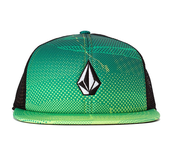 Volcom Printed Stone Cheese Hat (Lime)