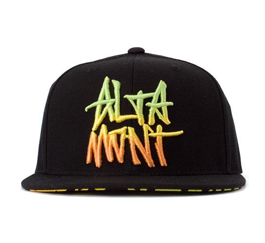 Altamont Williamsburg Flexfit Snapback Cap (Black)