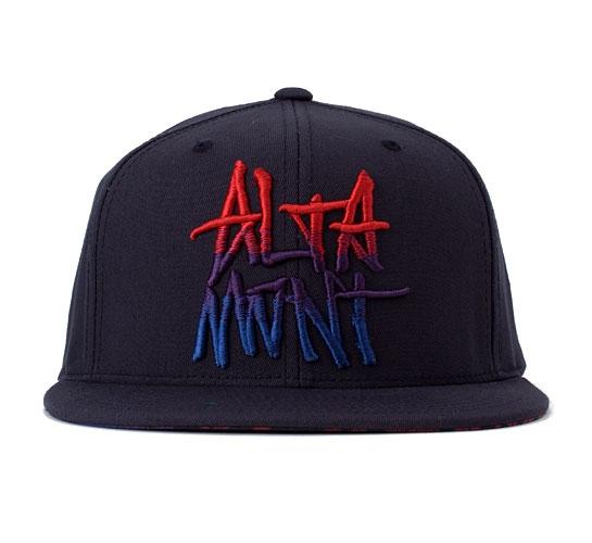 Altamont Williamsburg Flexfit Snapback Cap (Navy)