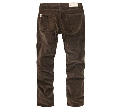 Altamont Men's Trousers - Wilshire Cord (Chocolate)