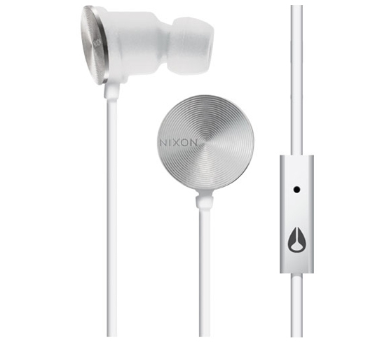 Nixon Wire Mic Headphones (White)