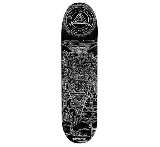 """Witchcraft Skateboard Deck - 8.5"""" Team (Sam Roberts)"""