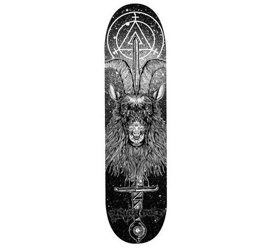 """Witchcraft Skateboard Deck - 8.125"""" Team (French)"""