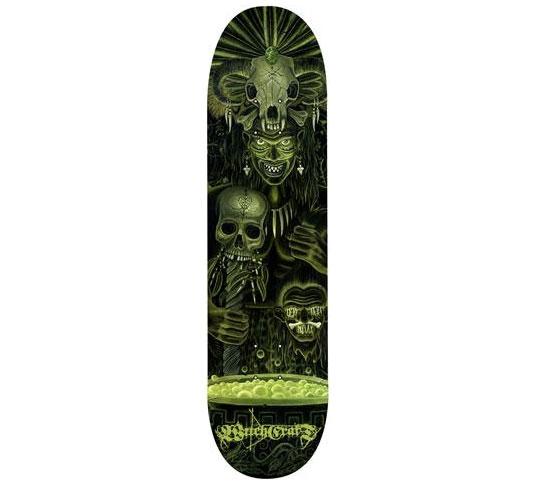 "Witchcraft Skateboard Deck - 8.25"" Team (Paul Parker)"