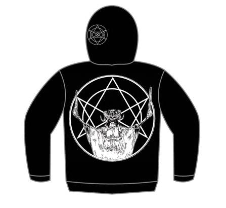 Witchcraft x Consortium Goathead Zip Hood (Black)
