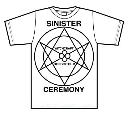 Witchcraft x Pentagram Pentagram T-Shirt (White)