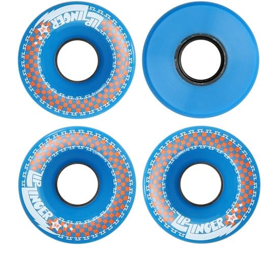 Zip Zinger 58mm Skateboard Wheels (Blue)
