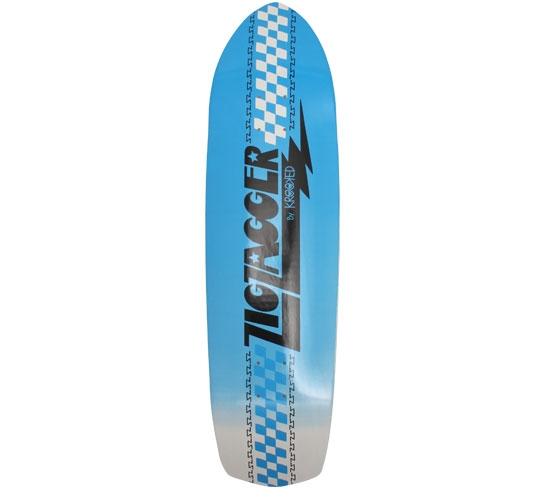 "Zip Zagger Skateboard Deck - 8.6"" (Neon Fade)"