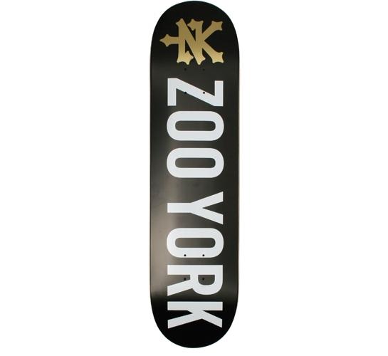 "Zoo York Skateboard Deck - 8"" Team (Photo Incentive 2)"