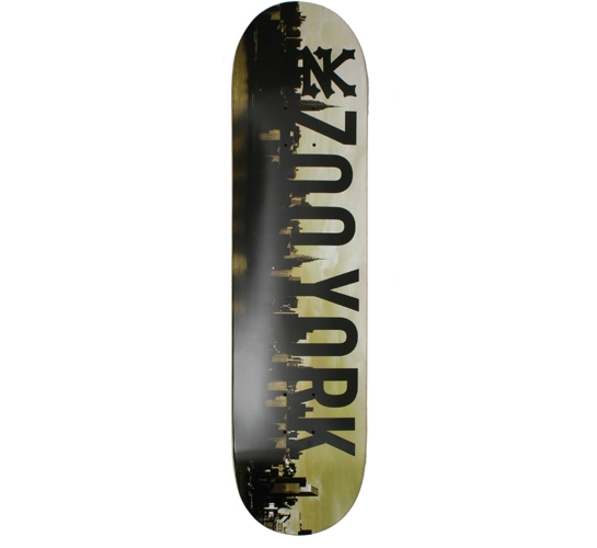 "Zoo York Skateboard Deck - 7.75"" Team (Reflection)"
