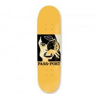 PASS~PORT Fruitful Labour Lemon Head Skateboard Deck 8.25 ...