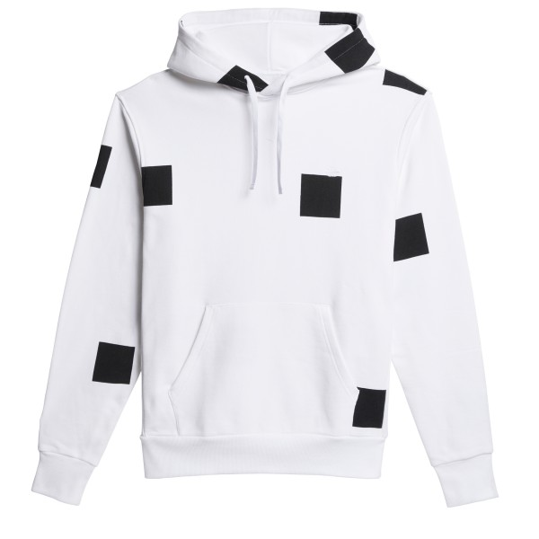 adidas Skateboarding Heavyweight Shmoofoil Box Pullover Hooded Sweatshirt (White/Black)