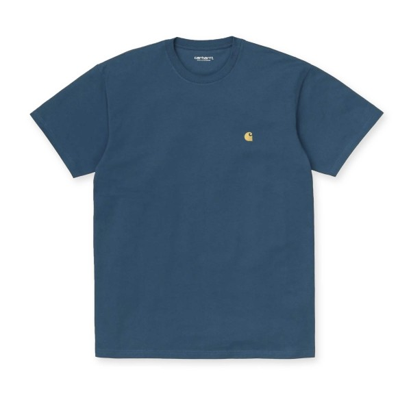 Carhartt WIP Chase T-Shirt (Corse/Gold)