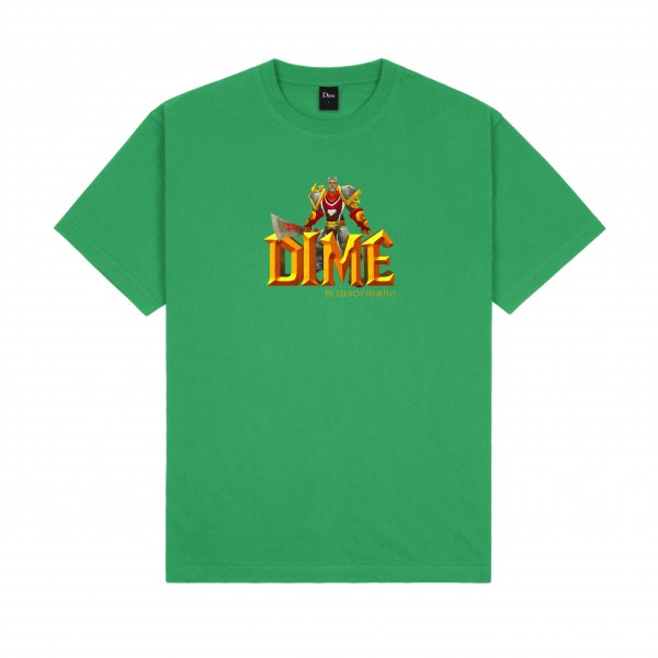 Dime by Leeroy Jenkins T-Shirt (Green)