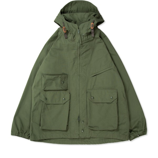 Engineered Garments Atlantic Parka (Olive Cotton Ripstop)