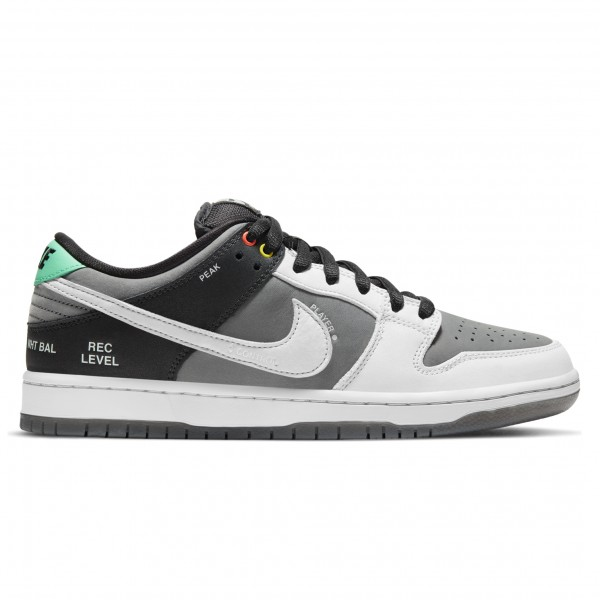 Nike SB Dunk Low Pro 'VX1000 Camcorder' (Smoke Grey/Pure Platinum-Off Noir)