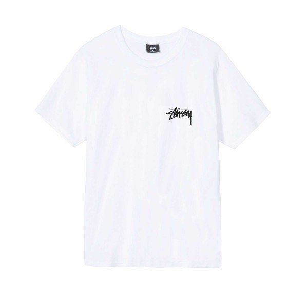 Stussy Peace Sign T-Shirt (White)