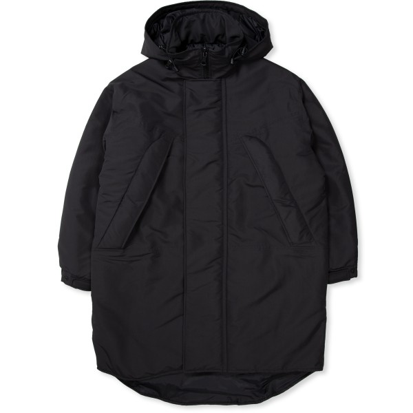 Women's Our Legacy Asena Parka (Black Recycled Poly)