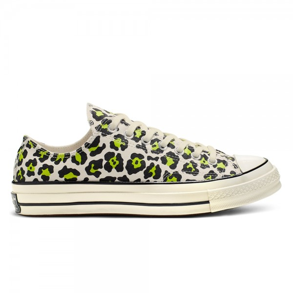 Converse Chuck Taylor All Star 70 Ox 'Archive Print' (Egret/Black/Bold Lime)