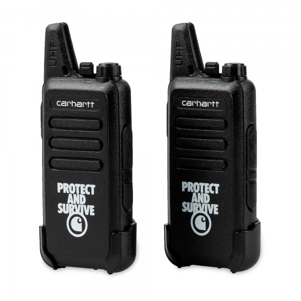 Carhartt Protect and Survive Walkie Talkie Set (Black)