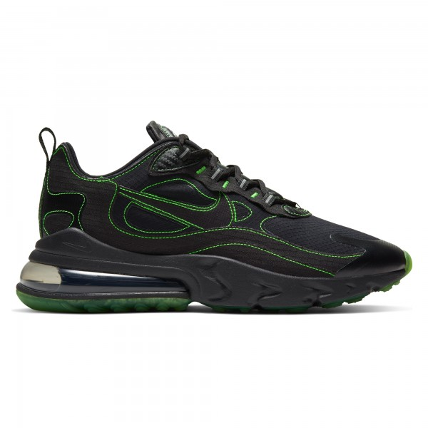 Nike Air Max 270 React SP (Black/Black-Electric Green)