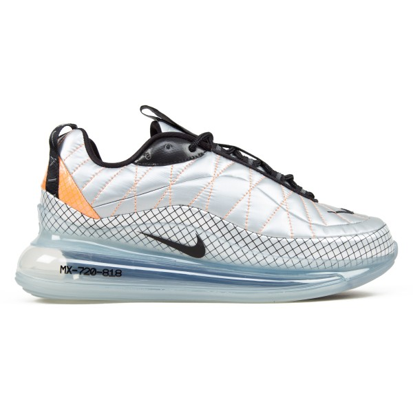 Nike Air Max 720-818 (Metallic Silver/Black-Total Orange)