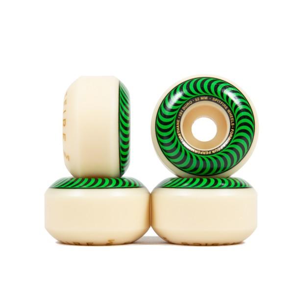 Spitfire Formula Four Classics 101DU Skateboard Wheels 52mm (Green)