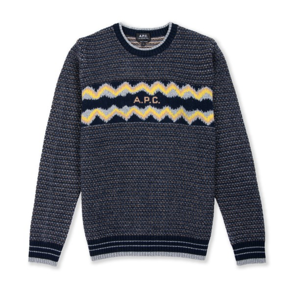 A.P.C. Ben Pullover Sweater (Dark Navy)