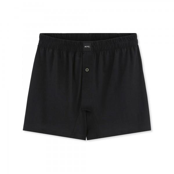 A.P.C. Cabourg Boxer Shorts (Black)