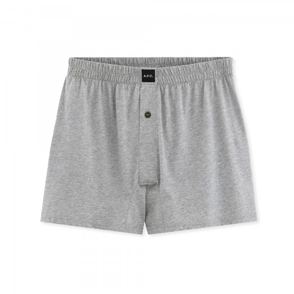 A.P.C. Cabourg Boxer Shorts (Heather Grey)