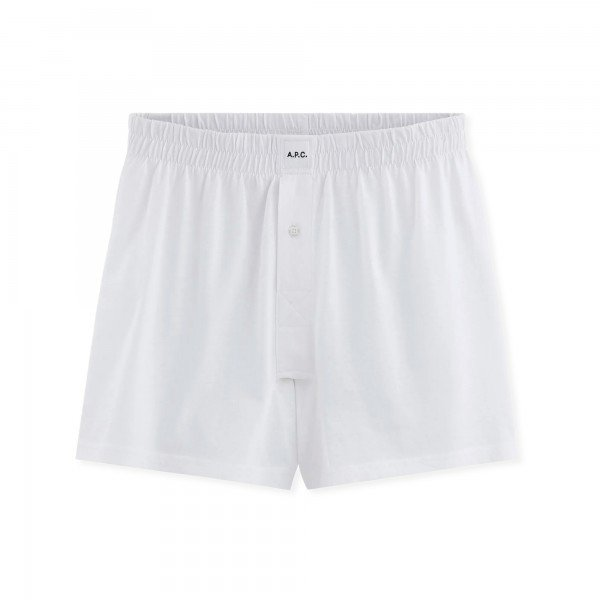 A.P.C. Cabourg Boxer Shorts (White)