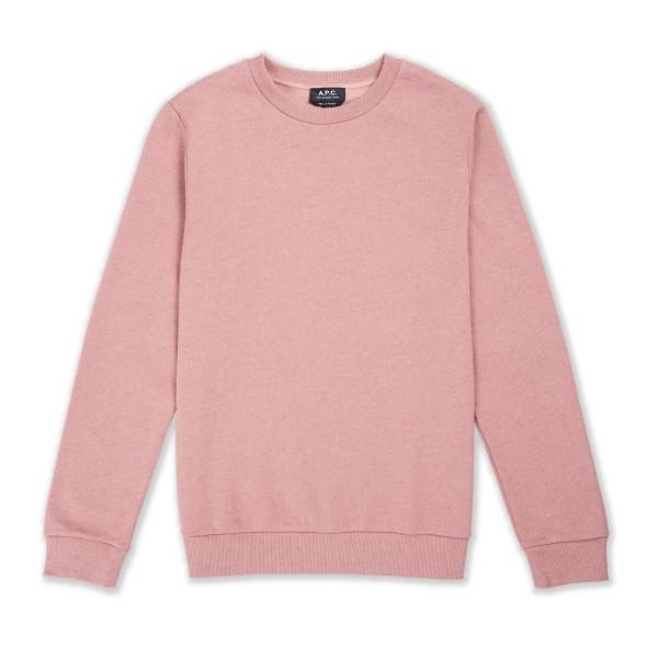 A.P.C. Capitol Crew Neck Sweatshirt (Vieux Rose)