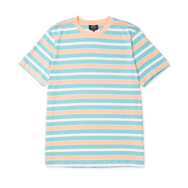 A.P.C. Gio T-Shirt (Turquoise Blue)