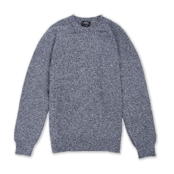 A.P.C. Pablo Pullover Sweater (Dark Navy)
