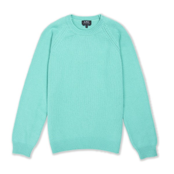 A.P.C. Pablo Pullover Sweater (Vert)